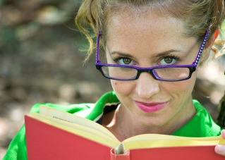 Looks like a librarian to me and its a Public Domain photo!